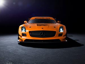 Mercedes-Benz SLS AMG GT3 45th Anniversary Edition by Sievers Tuning 2014 года